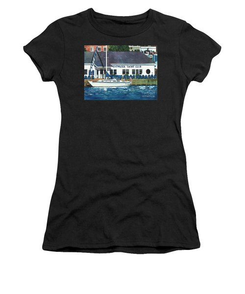 The Yacht Club Women's T-Shirt (Athletic Fit)