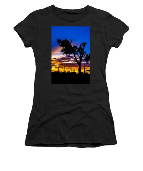 There Is Something Magical About The Sky Women's T-Shirt (Athletic Fit)