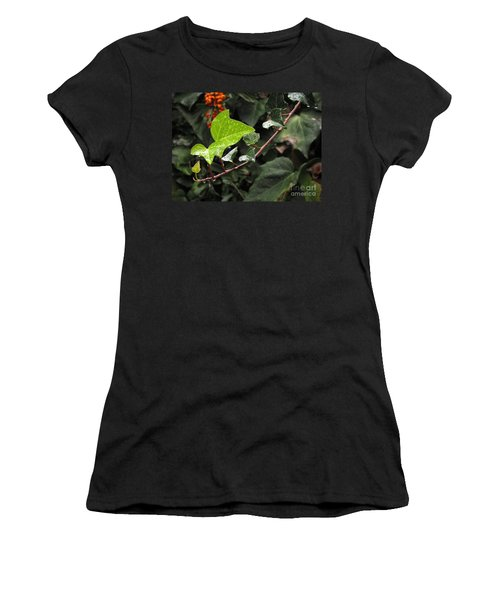 Women's T-Shirt (Junior Cut) featuring the photograph Thirsty by Ellen Cotton