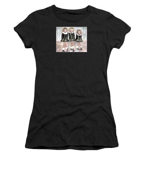 Three Irish Lasses Women's T-Shirt