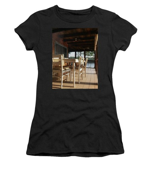 Through The Screen No 1 Women's T-Shirt (Athletic Fit)