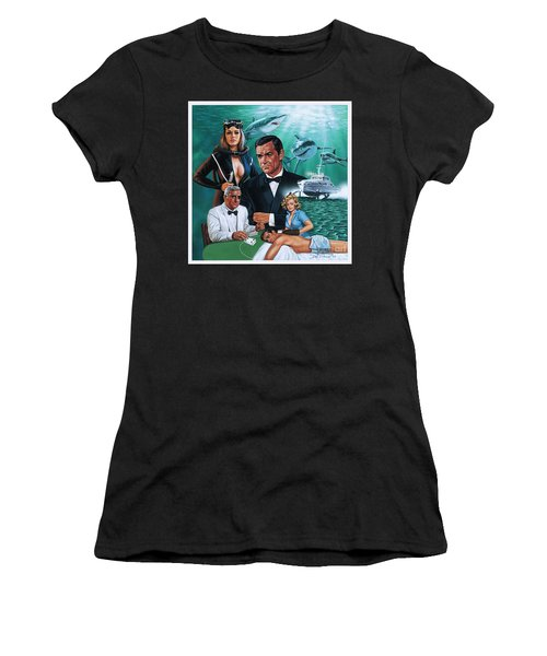 Thunderball Women's T-Shirt (Athletic Fit)