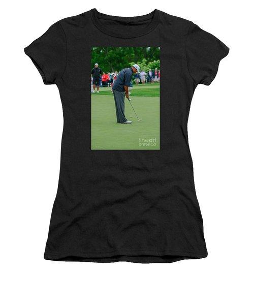 D12w-457 Tiger Woods Women's T-Shirt
