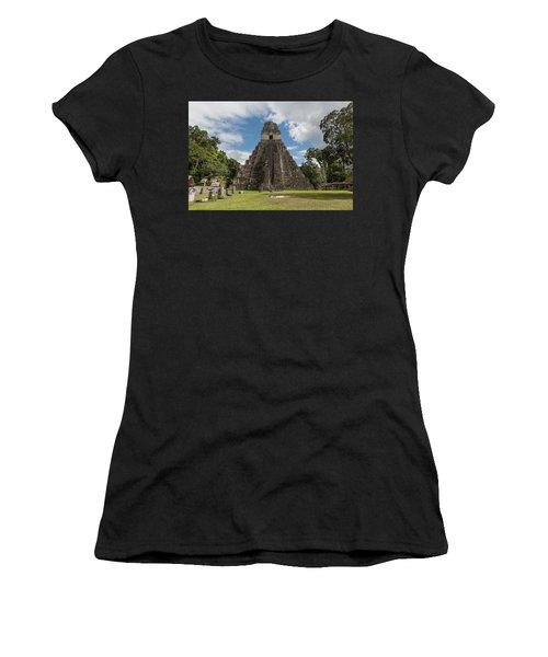 Tikal Pyramid 1j Women's T-Shirt