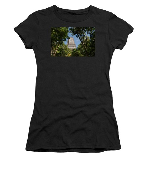 Tikal Pyramid 4b Women's T-Shirt