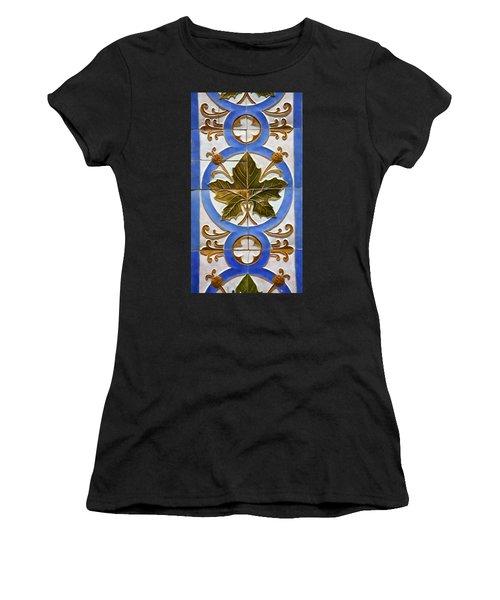 Tile Of Portugal Women's T-Shirt
