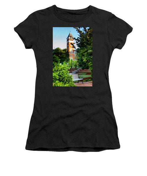 Tillman Hall Early Morning Women's T-Shirt (Athletic Fit)