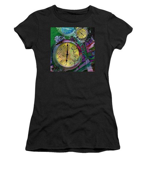 Time Women's T-Shirt (Athletic Fit)