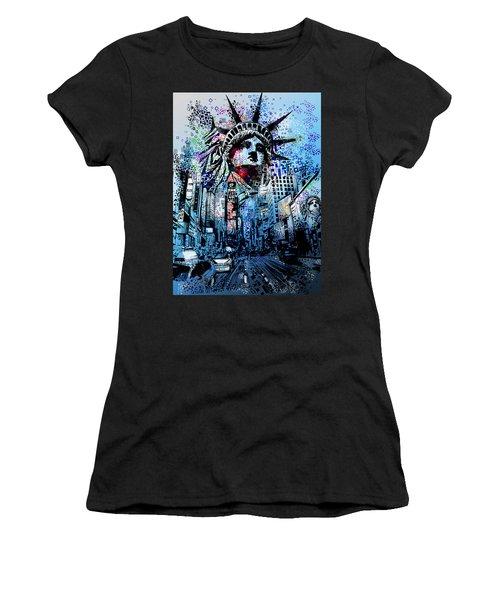 Times Square 2 Women's T-Shirt