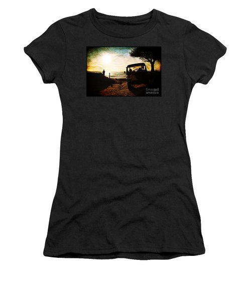 Time To Think Women's T-Shirt (Athletic Fit)