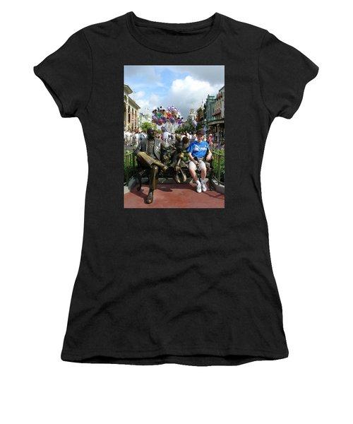 Women's T-Shirt (Junior Cut) featuring the photograph Tingle Time by David Nicholls