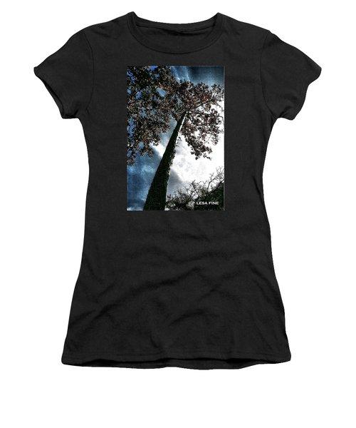 Tippy Top Tree II Art Women's T-Shirt