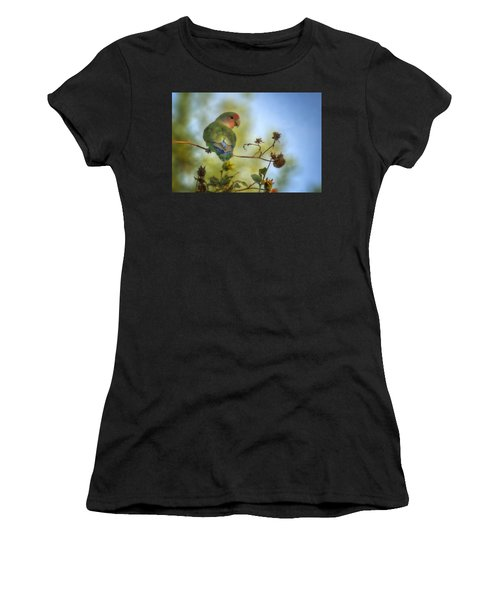 To Love A Lovebird Women's T-Shirt (Athletic Fit)
