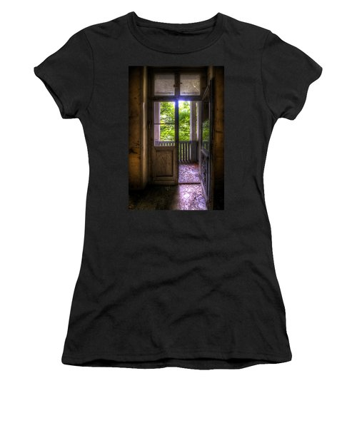 To The Balcony  Women's T-Shirt (Athletic Fit)