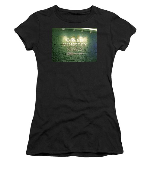 To The Green Monster Seats Women's T-Shirt (Athletic Fit)