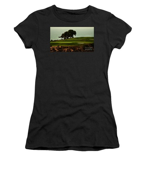 Torrey Pines Golfcourse Women's T-Shirt (Athletic Fit)