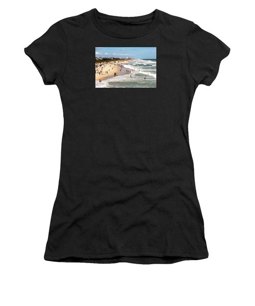Tourist At Kure Beach Women's T-Shirt
