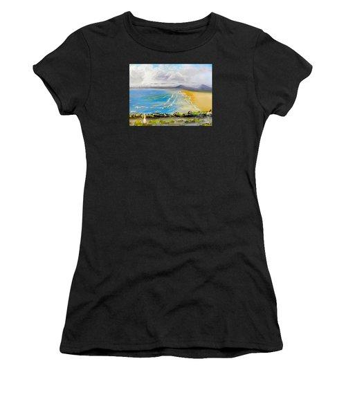 Towradgi Beach Women's T-Shirt (Athletic Fit)