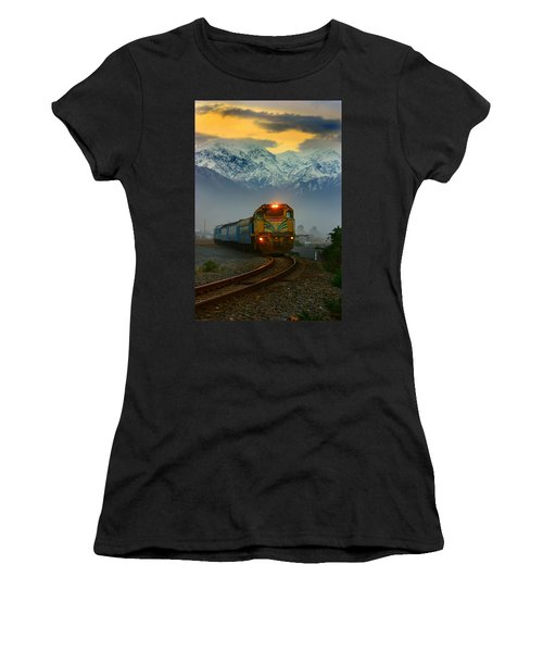 Train In New Zealand Women's T-Shirt (Athletic Fit)