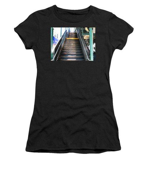 Train Staircase Women's T-Shirt