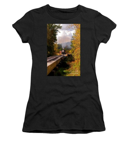 Train Through The Valley Women's T-Shirt