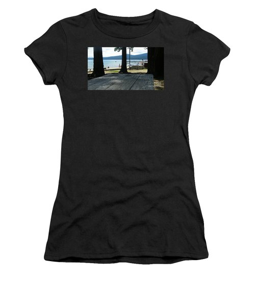 Women's T-Shirt (Junior Cut) featuring the photograph Tranquil Moment by Bobbee Rickard