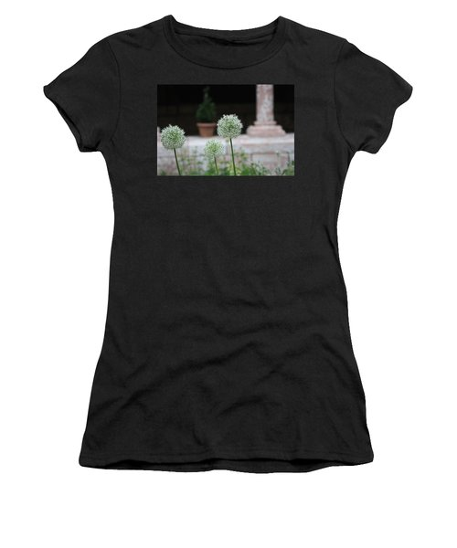 Tranquility Women's T-Shirt (Junior Cut) by Yvonne Wright