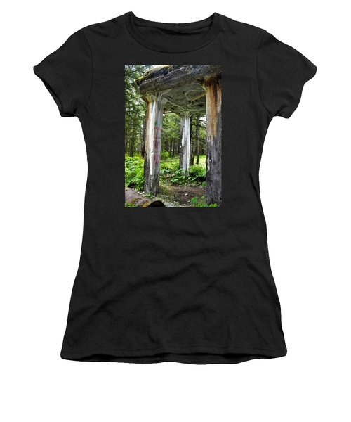Treadwell Mine Building Women's T-Shirt (Athletic Fit)