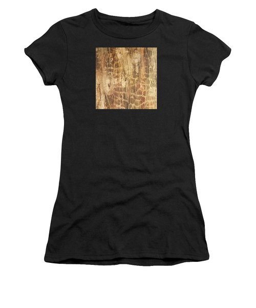 Tree Bark Women's T-Shirt (Athletic Fit)