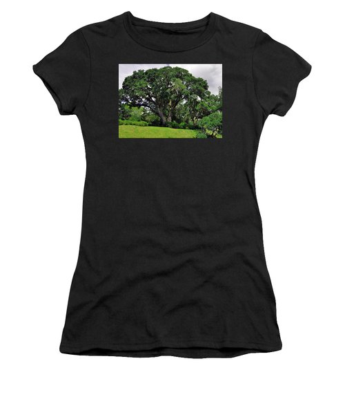 Tree By The River Women's T-Shirt (Athletic Fit)