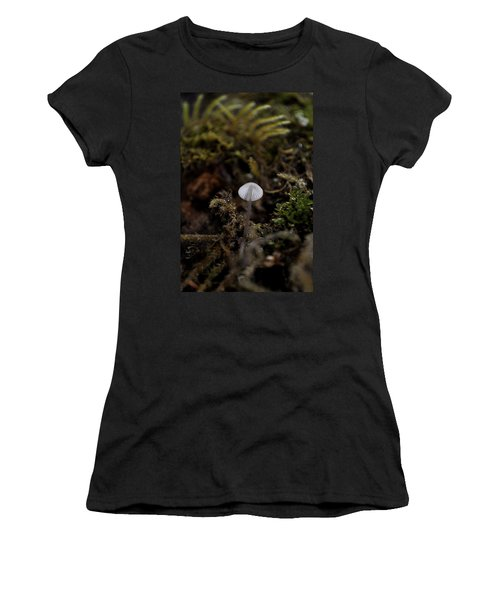 Tree 'shroom Women's T-Shirt (Junior Cut) by Cathy Mahnke