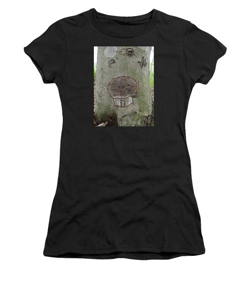 Tree Spirit Women's T-Shirt (Athletic Fit)