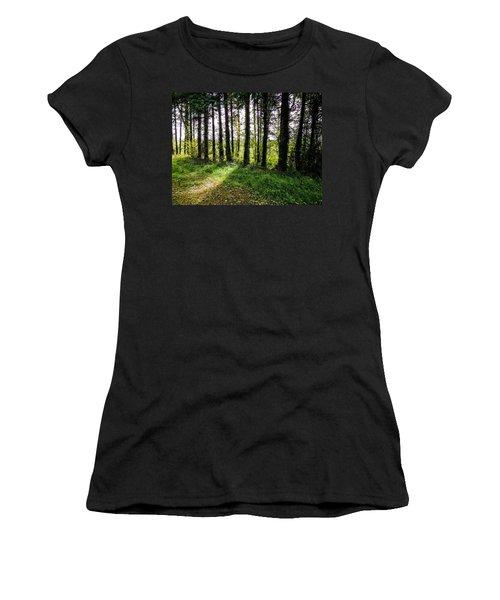 Trees On The Shannon Estuary Women's T-Shirt