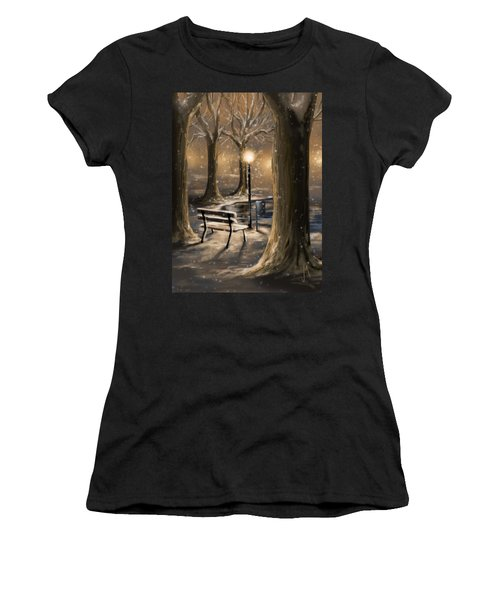 Trees Women's T-Shirt (Junior Cut) by Veronica Minozzi