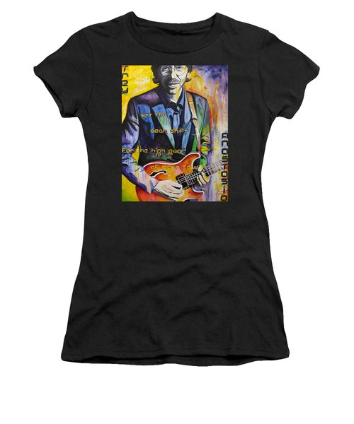 Trey Anastasio And Antelope Lryics Women's T-Shirt (Athletic Fit)