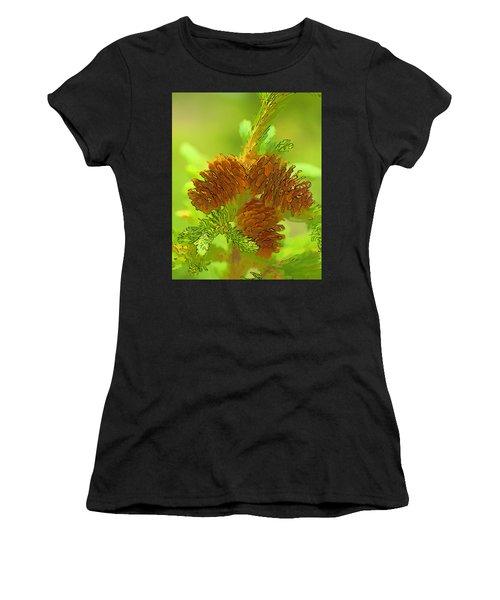 Tri Cones Women's T-Shirt (Athletic Fit)