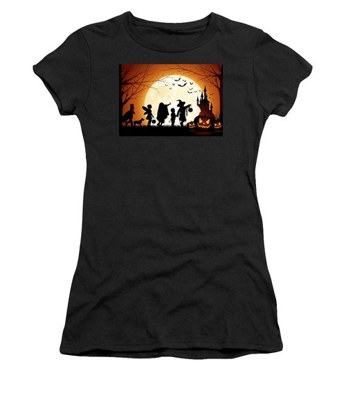 Trick Or Treat Women's T-Shirt (Athletic Fit)