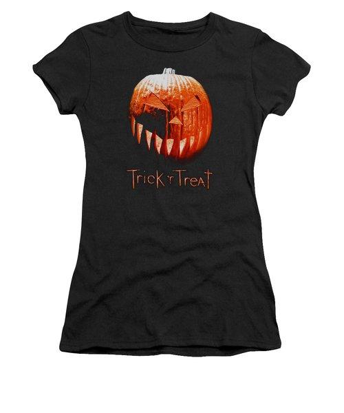 Trick R Treat - Pumpkin Women's T-Shirt
