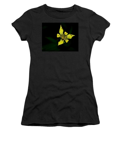 Tropic Yellow Women's T-Shirt (Junior Cut) by Miguel Winterpacht