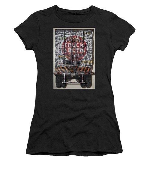 Truck Butts Women's T-Shirt (Junior Cut) by Blue Sky