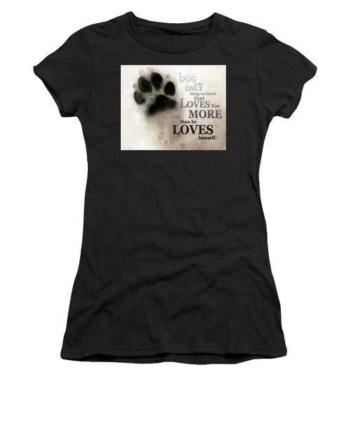True Love - By Sharon Cummings Words By Billings Women's T-Shirt