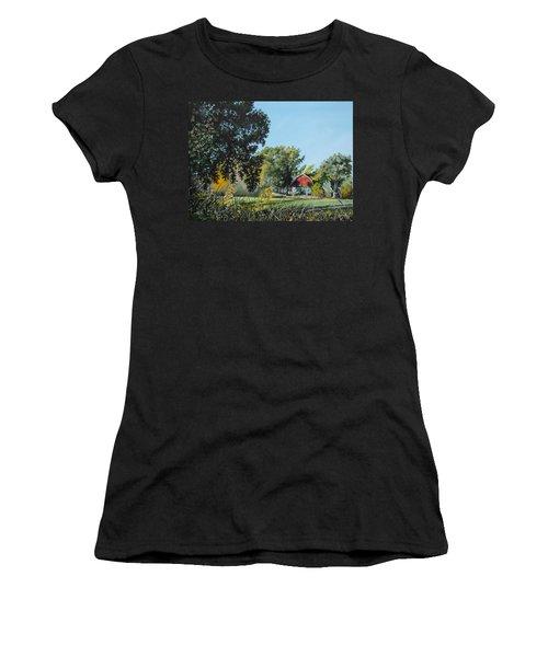Tucked Away Women's T-Shirt