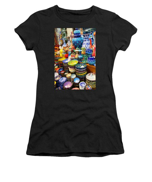 Turkish Ceramic Pottery 1 Women's T-Shirt (Athletic Fit)