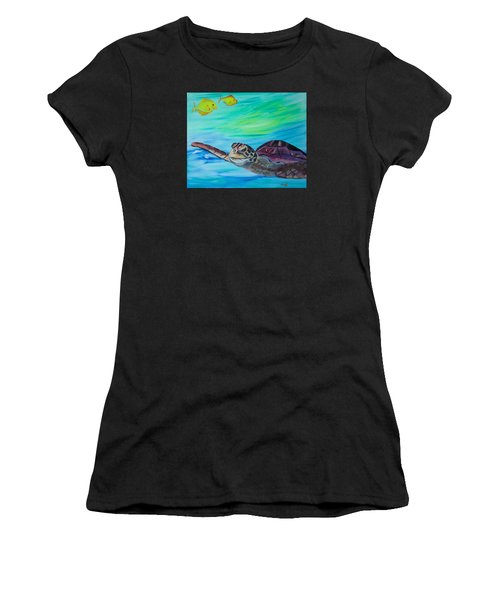 Traveling Through Women's T-Shirt (Athletic Fit)