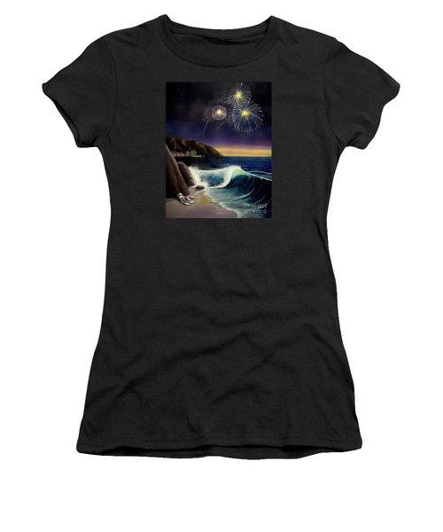 Twilight's Last Gleaming Women's T-Shirt (Junior Cut) by Jack Malloch