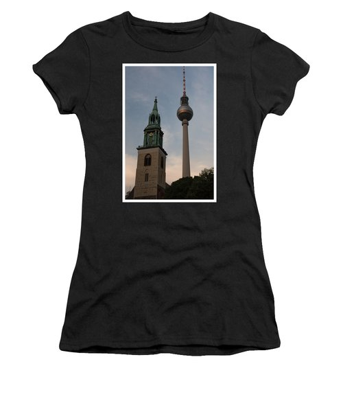 Two Towers In Berlin Women's T-Shirt