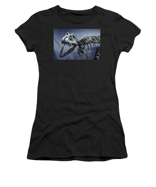 Tyrannosaurus Jane Women's T-Shirt (Athletic Fit)