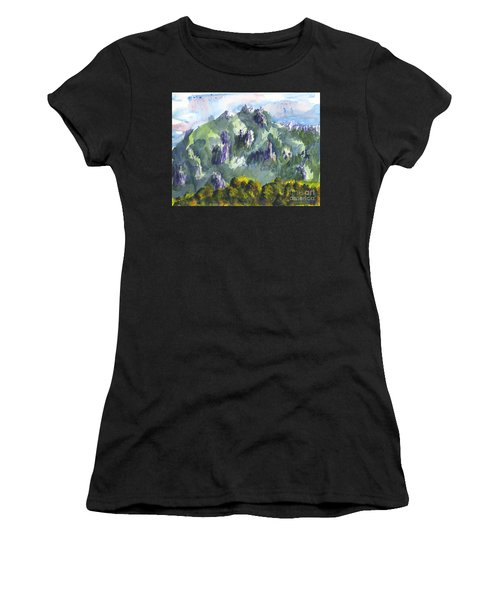 Uintah Highlands 1 Women's T-Shirt (Athletic Fit)