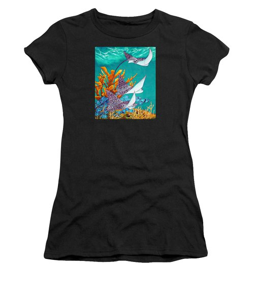 Under The Bahamian Sea Women's T-Shirt (Athletic Fit)