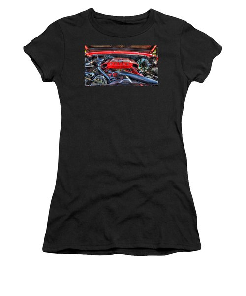 Under The Hood Women's T-Shirt (Athletic Fit)